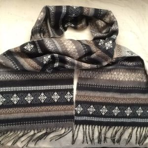 Fraas Cashmink Striped Scarf